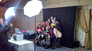 open air photo booth